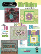 Paper Flair Card Kit-Birthday, Makes 10 Cards - 630482