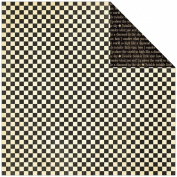 Mother Goose Double-Sided Cardstock 30cm x 30cm -Checkers