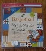DCWV 8x8 Mat Stack Kit With Bonus Scrapbook BASEBALL For Scrapbooking, Card Making & Craft Projects