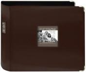 Pioneer D-Ring Leatherette Scrapbook Binder