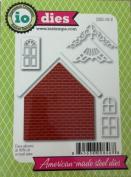 Impression Obsession io Steel Die # DIE119-Z Brick House Die US American Made