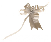 Premier Packaging AMZ-3910001 50 Count Butterfly Pull Bow, 10cm