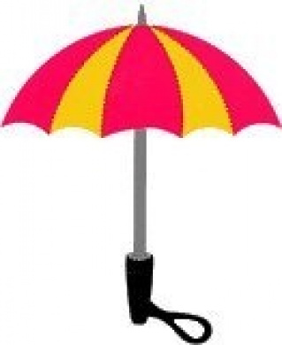 Accucut SlimLine Die - Ready for Rain (Umbrella)