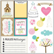 Bella Blvd Love and Marriage Cute Cuts Paper