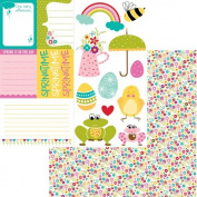 Bella Blvd Spring Flings and Easter Things Cute Cuts Paper