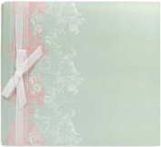 Colorbok Green Romance Postbound Album, 30cm by 30cm