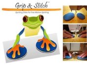 Grip & Stitch Quilting Discs fro Free Motion Quilting by Clever Craft Toots
