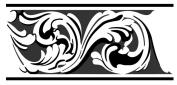 Faux Like a Pro Acanthus Moulding Stencil, 36cm by 34cm , Repeat