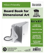 Eco Green Crafts Snap Book Dimensional Board Book with Snap Closure and Rope Handle