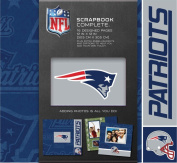 CR Gibson Tapestry Complete Scrapbook Kit, New England Patriots