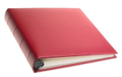 Gallery Leather Compact Colours Leather Album, Vibrant Red