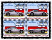 Stingray Postage Stamp Series - Block of Four