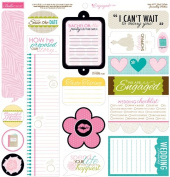 Bella Blvd Engaged At Last Just Write Journaling Stickers