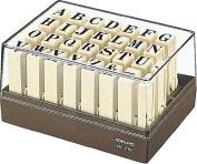 Kokuyo endless letter stamp set IS-210