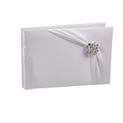 Ivy Lane Design Garbo Collection Guest Book, White