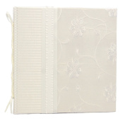 Molly West 2161 Hardbound 28-Page Keepsake Wedding Journal with Dupioni-and-Jacquard Cover, Destiny