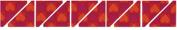 Sizzix/Westminster Bigz Dies-XL 60cm Die-7.6cm - 1.3cm Half Square Triangle