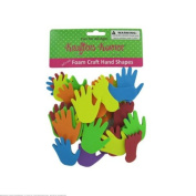 24 Foam craft hand and feet shapes