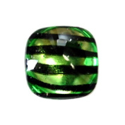 Apple - 14pc Smooth Acrylic Zebra Flatback Rounded Square Rhinestones