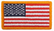 Embroidered American Flag Patch USA United States of America Military Uniform Emblem