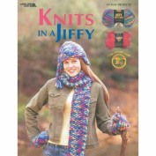 Leisure Arts-knits In A Jiffy-fun Fur & Thick &