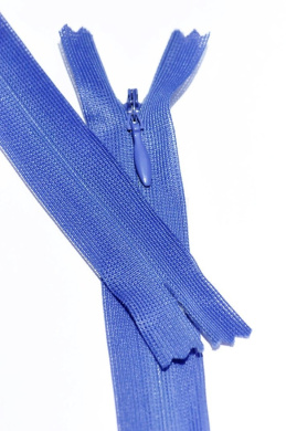 18cm Invisible Beulon Royal Blue Lightweight Closed End Zipper By Each
