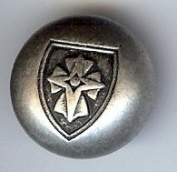 """Coat of Arms Button, Antique Silver Finish. 3/4"""""""