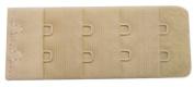 Braza Bra Back Extender 2 Hook Sp ~ Wide 2.5cm - 0.6cm Actual Length 5.1cm - 2.2cm Colour Beige Only