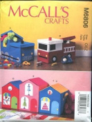 MCCALLS 6806 TOY STORAGE / BOX SEWING PATTERN / CRAFT