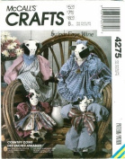 Country Cows - McCall's Crafts Pattern 4275 by Faye Wine