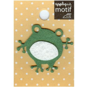Frog Design Small Iron-on Applique