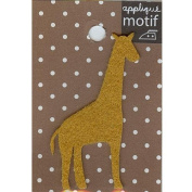 Giraffe Design Small Iron-on Applique