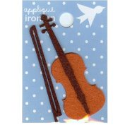 Violin Design Small Iron-on Applique