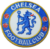 Chelsea Patches English London Soccer Football Club Fc Embroidered Iron on Patch 5.5x6 Cm