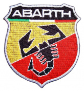 FIAT ABARTH 500 Auto Motors Cars Racing Sign t Shirt CA04 Iron on Patches