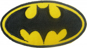 Batman Logo for Dry Clothing ,Jacket ,Shirt ,Cap Embroidered Iron on Patch ,By Sugar99shop