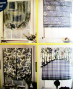 Simplicity 9986 Sewing Pattern Use to Make 4 Styles of Window Shades