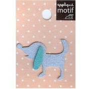 Puppy Design Small Iron-on Applique