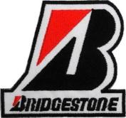 BRIDGESTONE Tyres Motorcycles Cars Racing Motorsport Logo PB02 Patches