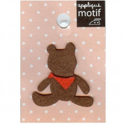 Little Bear Design Small Iron-on Applique