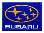 SUBARU Motor Cars Accessories Logo t Shirt CS09 Iron on Patches