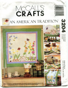 """McCall's Crafts Pattern 8140cm Spring is in the Air...Quilting is Blossoming"""""""
