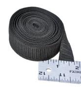 Elastic ~ Non-roll Elastic 1.9cm ~ Black ~ By Yard