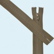 23cm Zipper Talon #3 Skirt & Dress Closed Bottom ~ Bark