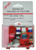 Great Lakes Wholesale 6253201350 Travel Sewing Kit in Hard Plastic Reclosable Case