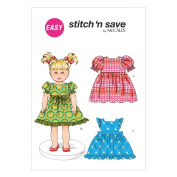 McCall Pattern Company M6778 46cm Doll Clothes Sewing Template, Size A