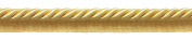 Large 1cm Basic Trim Lip Cording (Light Gold), Sold by The Yard , Style# 0038S Colour