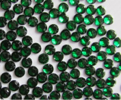 1000pcs Round Flatback Resin Rhinestones 4mm (16ss)--- Emerald Green By Pixiheart