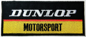 Dunlop Motorsport Patches Sponsor Racing Patches 13x5.5 Cm