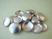 Cover Buttons - 1.6cm (SIZE 24) - FLAT BACKS - QTY 25